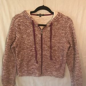 "Jersey Knit hoodie CropTop Size: M ""New"""
